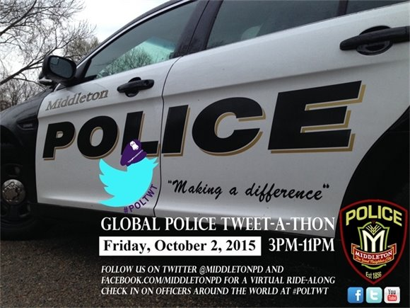 Middleton Police Tweet-a-thon