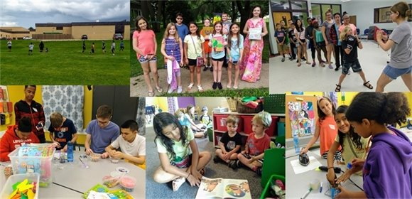 Youth Center Photo Collage - Summer 2018
