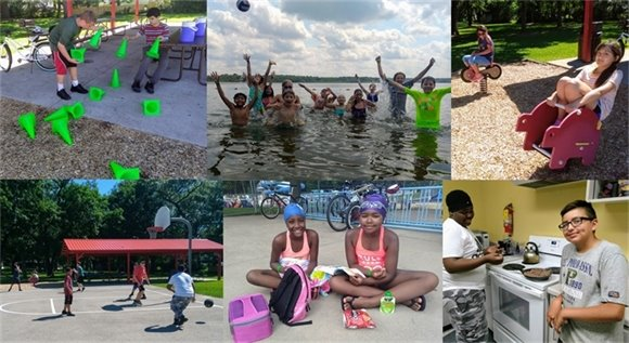 Youth Center Photo Collage Week 3 - Summer 2018