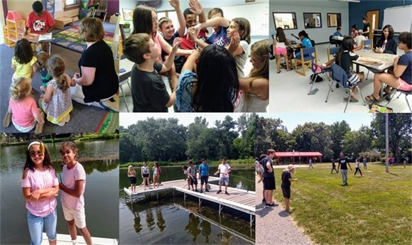 Youth Center Photo Collage Week 4 - Summer 2018