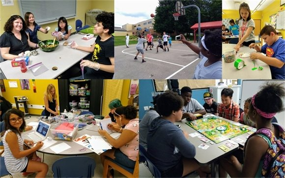 Youth Center Photo Collage Week 5 - Summer 2018