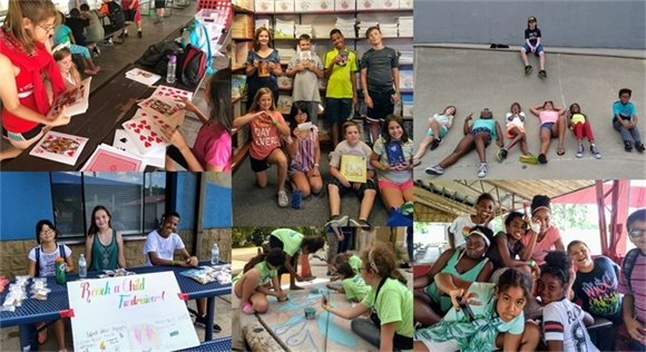 Youth Center Photo Collage Week 6 - Summer 2018