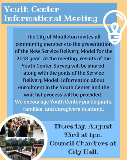 Youth Center Informational Meeting