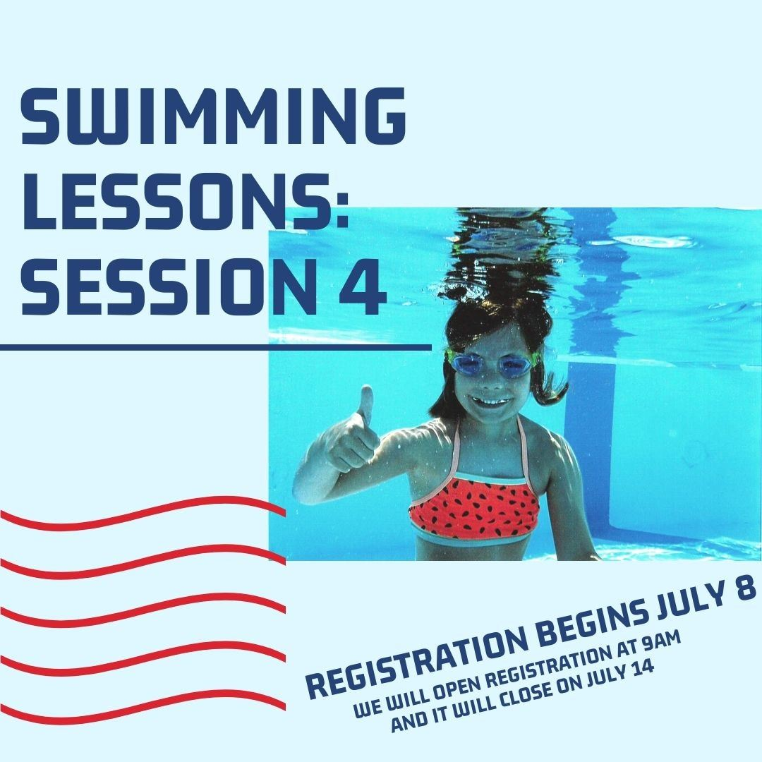Session 4 Swimming Lessons cover