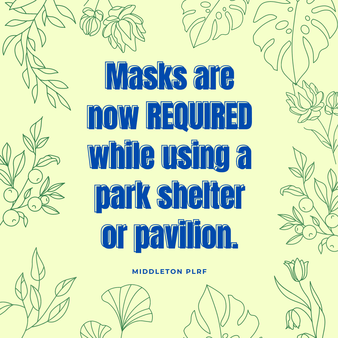 Park Shelter Mask Requirement