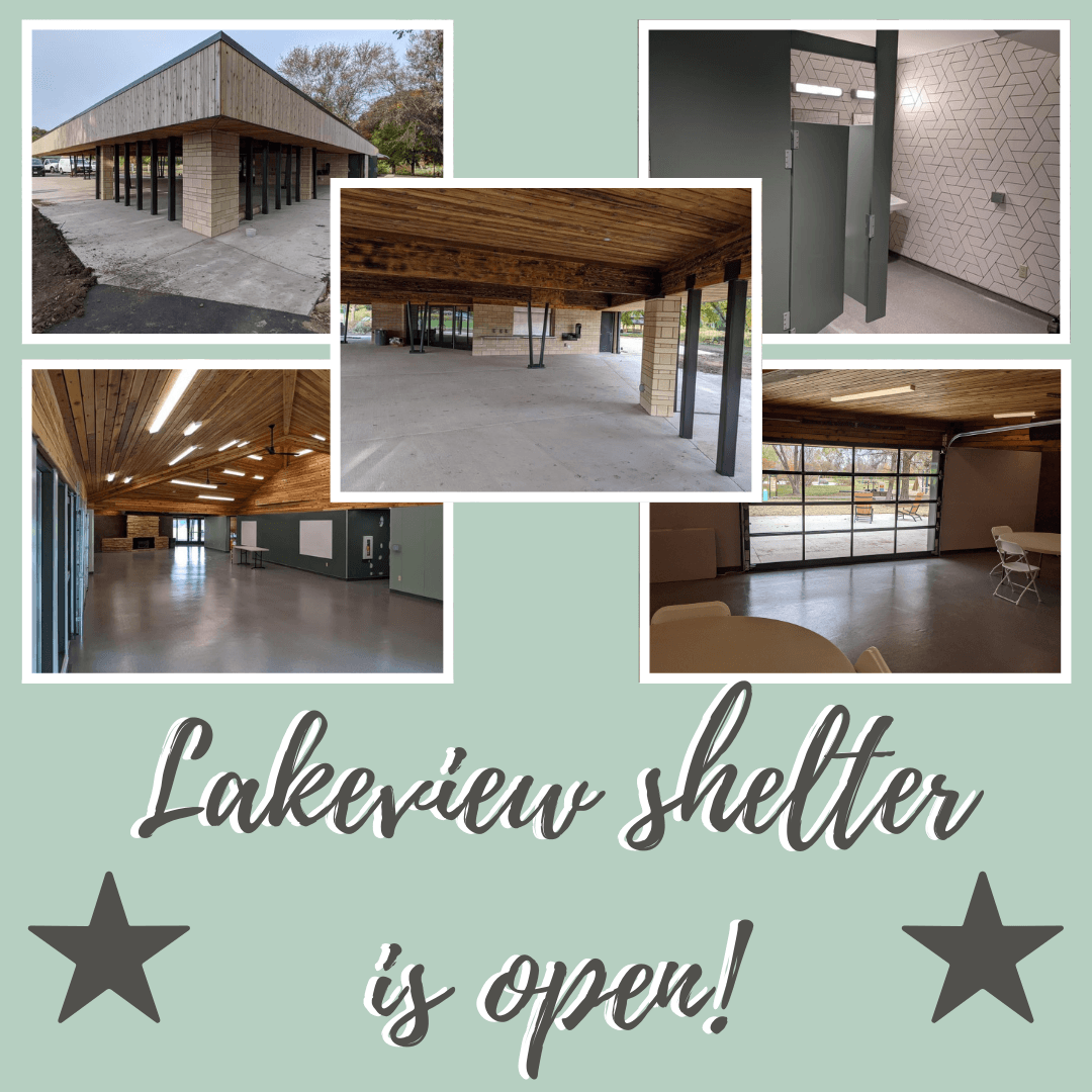 Lakeview shelter is open