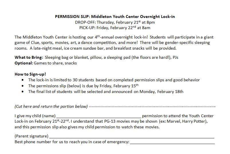 Lock-in Permission Slip 2019-1 Opens in new window